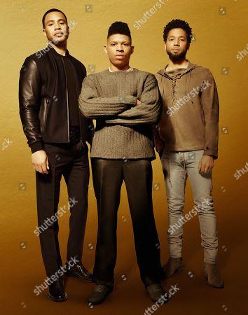 Trai Byers as Andre Lyon, Bryshere Y. Gray as Hakeem Lyon and Jussie Smollett as Jamal Lyon
