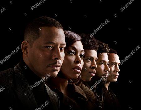 Terrence Howard as Lucious Lyon, Taraji P. Henson as Cookie Lyon, Bryshere Y. Gray as Hakeem Lyon, Jussie Smollett as Jamal Lyon and Trai Byers as Andre Lyon