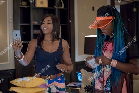 Taraji P. Henson as Cookie Lyon and Ta'Rhonda Jones as Porsha