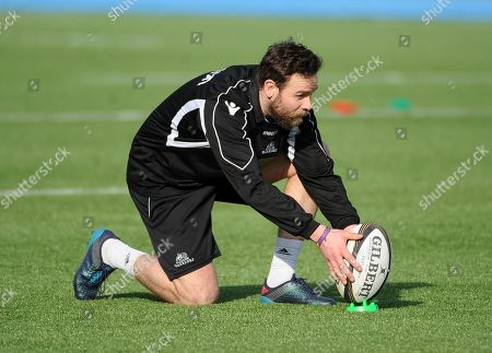 Ruaridh Jackson - Glasgow Warriors full back will make his 150th club appearance in Saturday's Pro14 fixture away to Italian side Zebra in Treviso.