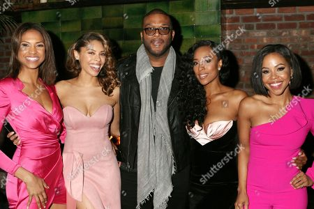 Aeriel Miranda, Ciera Payton, Tyler Perry, Quin Walters and KJ Smith