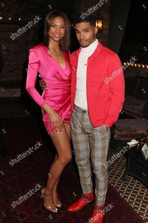 Aeriel Miranda and Rome Flynn