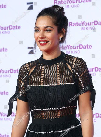 Nilam Farooq attends the premiere of 'Rate Your Date' at the Sony Center in Berlin, Germany, 26 February 2019. The movie about the seemingly infinite possibilities offered by dating apps opens in German cinemas on 07 March.