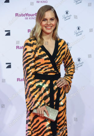 Alicia Von Rittberg attends the premiere of 'Rate Your Date' at the Sony Center in Berlin, Germany, 26 February 2019. The movie about the seemingly infinite possibilities offered by dating apps opens in German cinemas on 07 March.