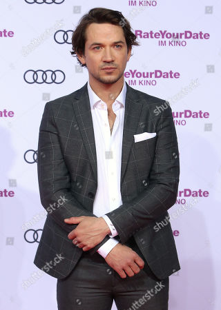 Marc Benjamin attends the premiere of 'Rate Your Date' at the Sony Center in Berlin, Germany, 26 February 2019. The movie about the seemingly infinite possibilities offered by dating apps opens in German cinemas on 07 March.