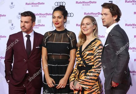 Editorial photo of Rate Your Date film premiere in Berlin, Germany - 26 Feb 2019