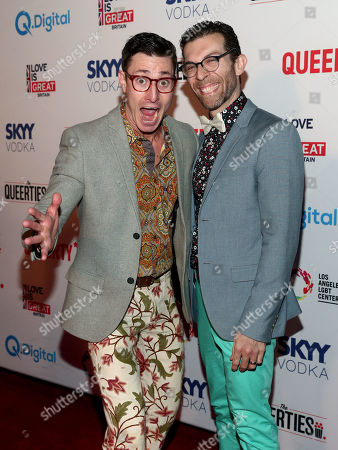 Editorial photo of The Queerties honoring the LGBTQ community, Los Angeles, USA - 26 Feb 2019