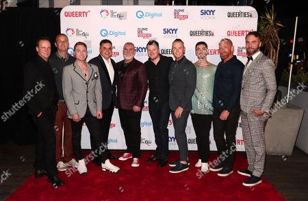 Chris Bull, Jake Myers, Jordan Star, Scott Gatz, Scott Furman, Graham Gremore, Justin Garrett, Daniel Tracer, Joel Shoemaker and John Halbach