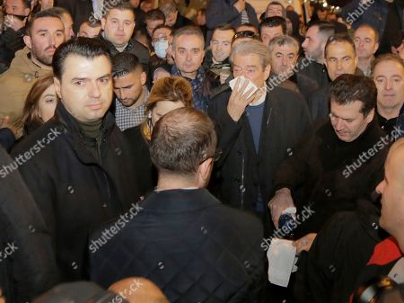 Editorial image of Albania opposition protest in Tirana - 26 Feb 2019