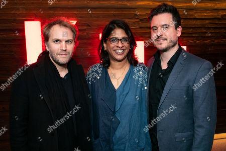 Florian Zeller (Author), Indhu Rubasingham (Artistic Director) and Michael Longhurst (Director)