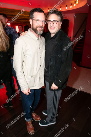 Stock Image of John Light (Pierre) and Patrick Marber