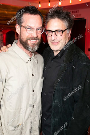 John Light (Pierre) and Patrick Marber