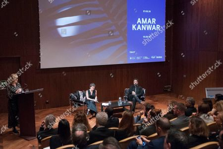 Editorial image of Amar Kanwar press conference, Thyssen Bornemisza Museum, Madrid, Spain - 26 Feb 2019