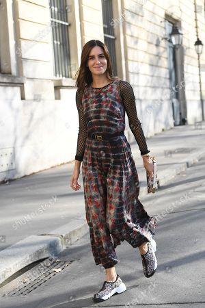 Editorial image of Street Style, Fall Winter 2019, Paris Fashion Week, France - 26 Feb 2019