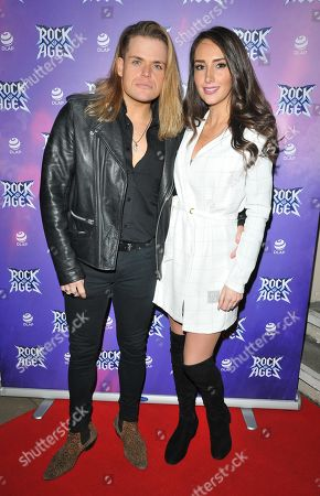 Editorial image of 'Rock Of Ages' musical press night, London, UK - 26 Feb 2019
