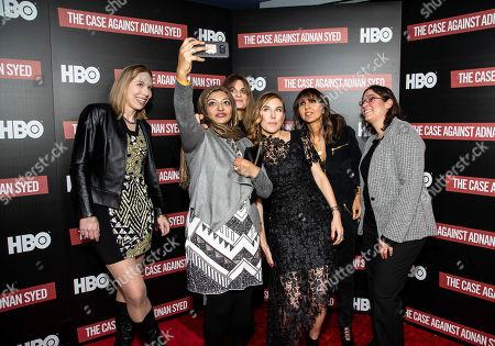 Suzanne Simpson, Rabia Chaudry, Jemima Goldsmith, Amy Berg, Henrietta Conrad, Laura Estrada Sandoval
