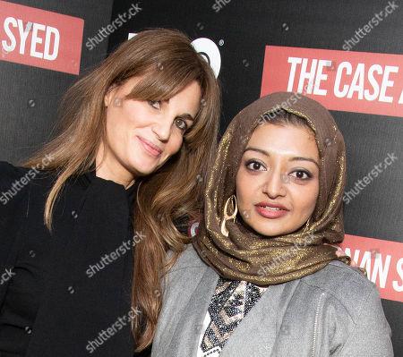 Jemima Goldsmith, Rabia Chaudry