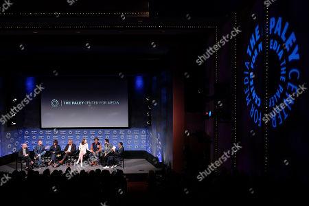 Bryan Wynbrandt,Steven Lilien(Creators, Exec. Producers), Javicia Leslie, Joe Morton, Violett Beane, Brandon Michael Hall, Suraj Sharma, Rev. AR Bernard