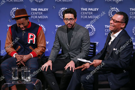 """Editorial photo of PaleyLive New York Presents - """"God Friended Me Goes to the Paley Center"""" - A Celebration of Black History Month, New York, USA - 26 Feb 2019"""