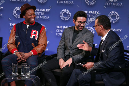 """Editorial image of PaleyLive New York Presents - """"God Friended Me Goes to the Paley Center"""" - A Celebration of Black History Month, New York, USA - 26 Feb 2019"""