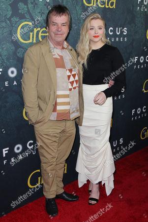 Neil Jordan and Chloe Grace Moretz