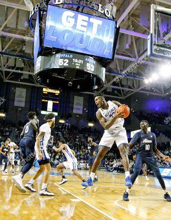 Editorial image of NCAA Basketball Akron vs Buffalo Feb. 26, Amherst, USA - 26 Feb 2019