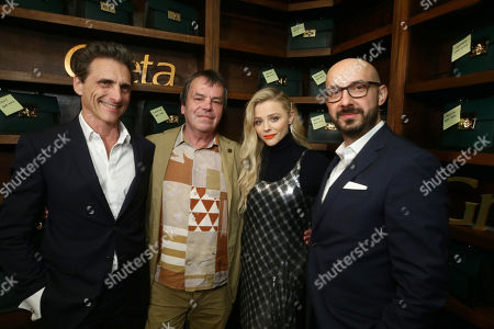 Lawrence Bender, Producer, Neil Jordan, Writer/Director, Chloe Grace Moretz, Peter Kujawski, Chairman, Focus Features,