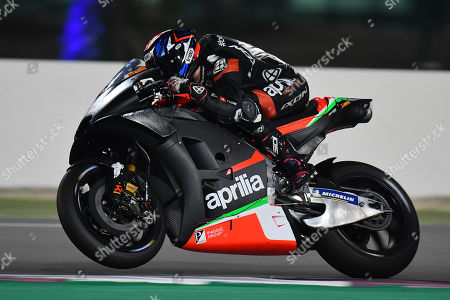 Editorial picture of MotoGP pre-season test session at Losail Circuit, Doha, Qatar - 25 Feb 2019