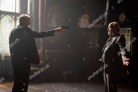 James Cromwell as Gilbert Dorn and Richard Jenkins as Steven Frost