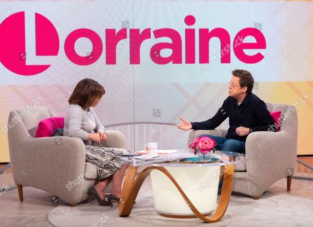 Lorraine Kelly and Simon Mayo