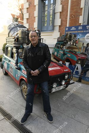 Jean Reno poses during the photocall for the presentation of the Spanish film '4 latas' (lit. '4 Cans') in Madrid, Spain, 27 February 2019. The film opens in Spanish cinemas on 01 March 2019.