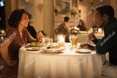 Carmen Ejogo as Amelia Reardon and Mahershala Ali as Detective Wayne Hays