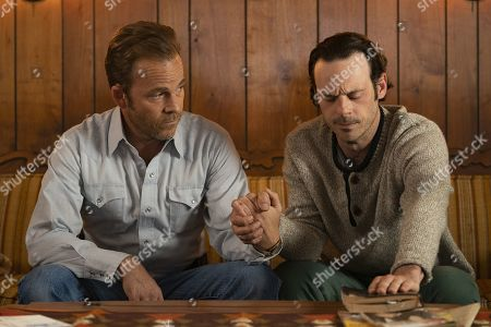 Stock Photo of Stephen Dorff as Detective Roland West and Scoot McNairy as Tom Purcell