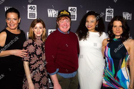 Stock Image of Danielle Skraastad, Kate Wetherhead, Becca Blackwell, Michelle Beck, Mia Barron