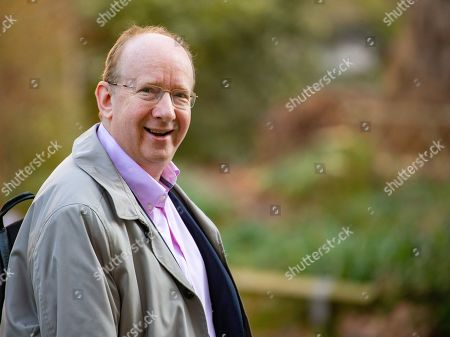 Stock Photo of Daniel Finkelstein, Baron Finkelstein, OBE, British journalist and politician in Downing Street. He is a former executive editor of The Times, remains a weekly political columnist, and is now associate editor