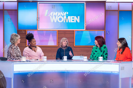 Ruth Langsford, Brenda Edwards, Zoe Henry, Janet Street-Porter and Stacey Solomon