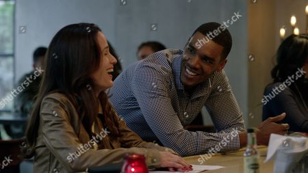 Stock Picture of Elizabeth Reaser as Andi and Parker Sawyers as Jason