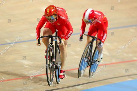 Lin Junhong and Guo Yufang of China.