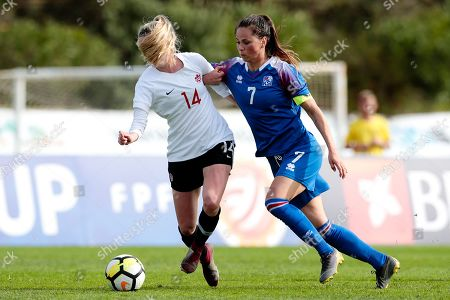 Editorial picture of Algarve Cup - Canada vs Iceland, Faro, Portugal - 27 Feb 2019