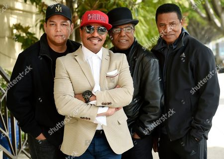 Taj Jackson, Jackie Jackson, Tito Jackson, Marlon Jackson. Marlon Jackson, second from left, Tito Jackson, second from right, and Jackie Jackson, far right, brothers of the late musical artist Michael Jackson, and Tito's son Taj, far left, pose together for a portrait outside the Four Seasons Hotel, in Los Angeles. Michael Jackson's brothers and nephew say they weren't surprised by a documentary resurrecting allegations of his sexual abuse of children, and they're prepared to defend him