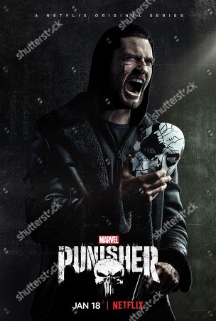 The Punisher (2019) Poster Art. Ben Barnes as Billy Russo