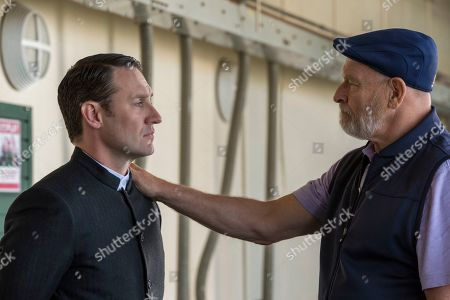 Josh Stewart as John Pilgrim and Corbin Bernsen as Anderson Schultz