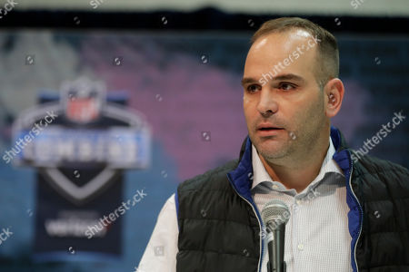 2. Jacksonville Jaguars general manager David Caldwell speaks during a press conference at the NFL football scouting combine in Indianapolis
