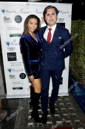 Editorial picture of Nina Naustdal fashion show, London, UK - 26 Feb 2019