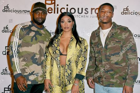 Rashawn Scott, Joseline Hernandez and Deon Bush
