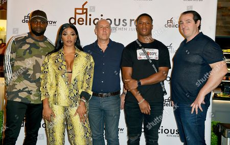 Stock Picture of Rashawn Scott, Joseline Hernandez, Flemming Madsen, Kenyan Drake and Ben Steiner