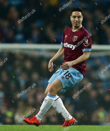 Samir Nasri of West Ham United