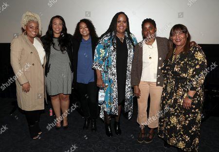 Latasha Gillespie, Ashley Holland, Deniese Davis, Natasha Rothwell, Janicza Bravo and Lorie Bartlett