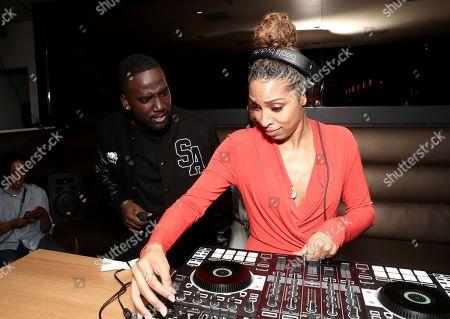 Shamier Anderson and DJ Bova