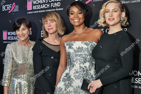 Stock Image of Myra Biblowit, Kate Capshaw, Gabrielle Union and Kate Hudson